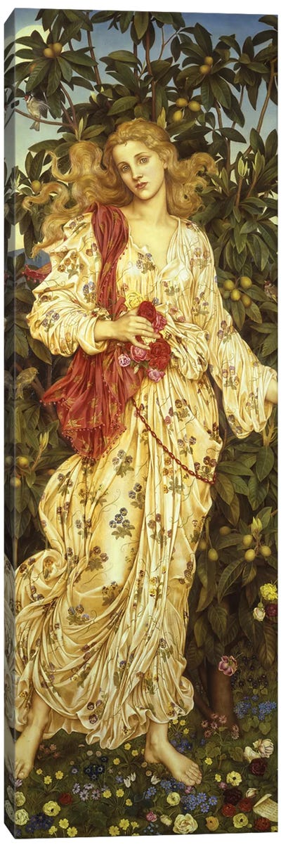 Flora, 1894  Canvas Art Print