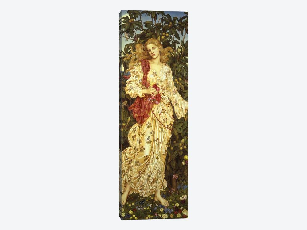 Flora, 1894  by Evelyn De Morgan 1-piece Canvas Art Print