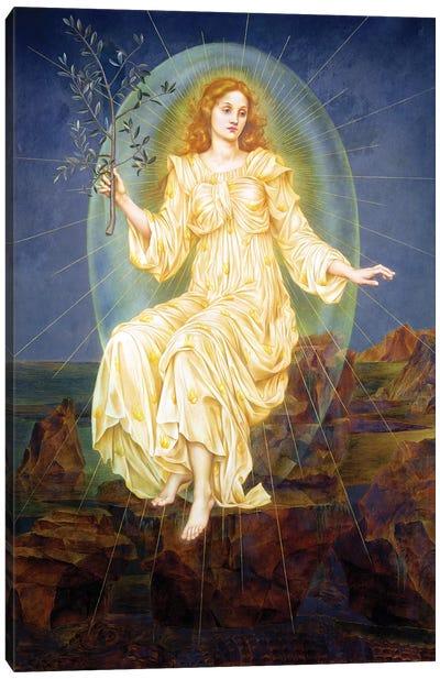 Lux in Tenebris, 1895  Canvas Art Print