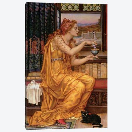 The Love Potion, 1903  Canvas Print #BMN9618} by Evelyn De Morgan Canvas Artwork