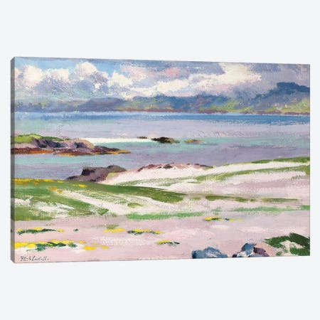 Towards Mull from Choc Ard Anraidh, Iona, c.1928  Canvas Print #BMN9627} by Francis Campbell Boileau Cadell Canvas Art