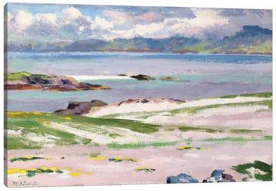 Towards Mull from Choc Ard Anraidh, Iona, c.1928  Canvas Art Print