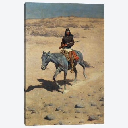 Apache Scout  Canvas Print #BMN9632} by Frederic Remington Canvas Wall Art