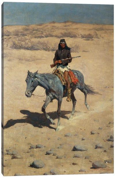 Apache Scout  Canvas Art Print