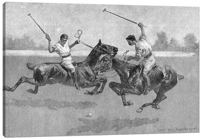 Polo Players, 1890  Canvas Art Print