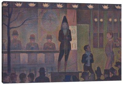 Circus Sideshow , 1887-88  Canvas Art Print