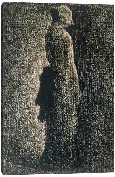 The Black Bow, 1882-3  Canvas Art Print