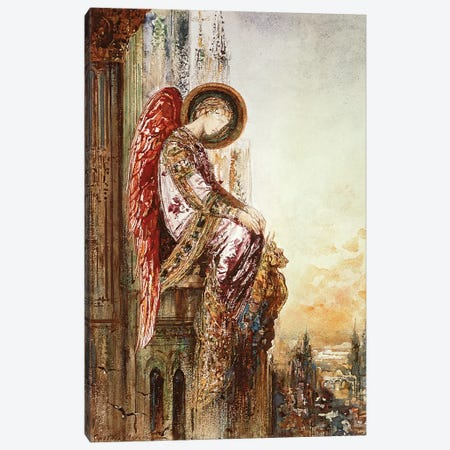 Angel Traveller  Canvas Print #BMN9656} by Gustave Moreau Art Print