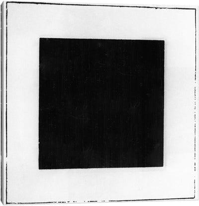 Black Square  Canvas Art Print