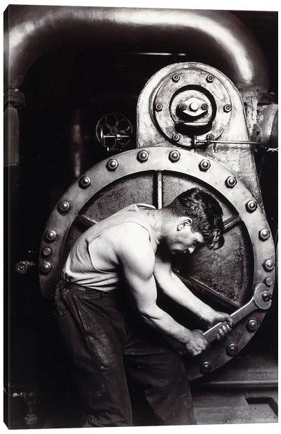 Powerhouse Mechanic, c.1924;  Canvas Art Print