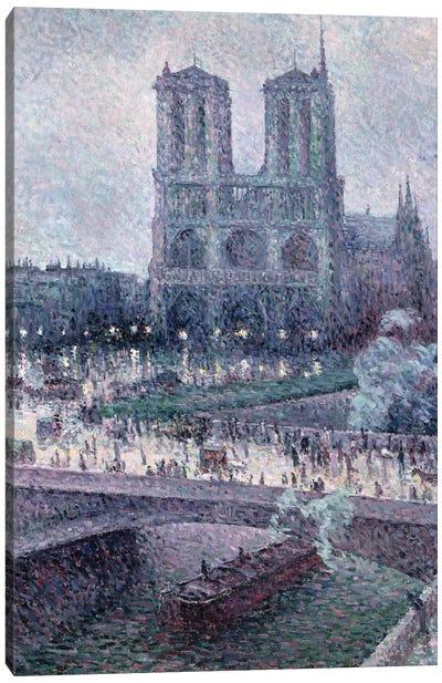 Notre Dame, c.1900  Canvas Art Print