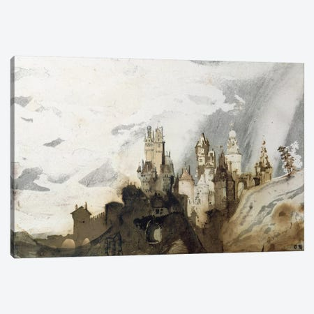 Le Gai Chateau  Canvas Print #BMN968} by Victor Hugo Art Print