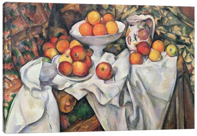 Apples and Oranges, 1895-1900  Canvas Art Print