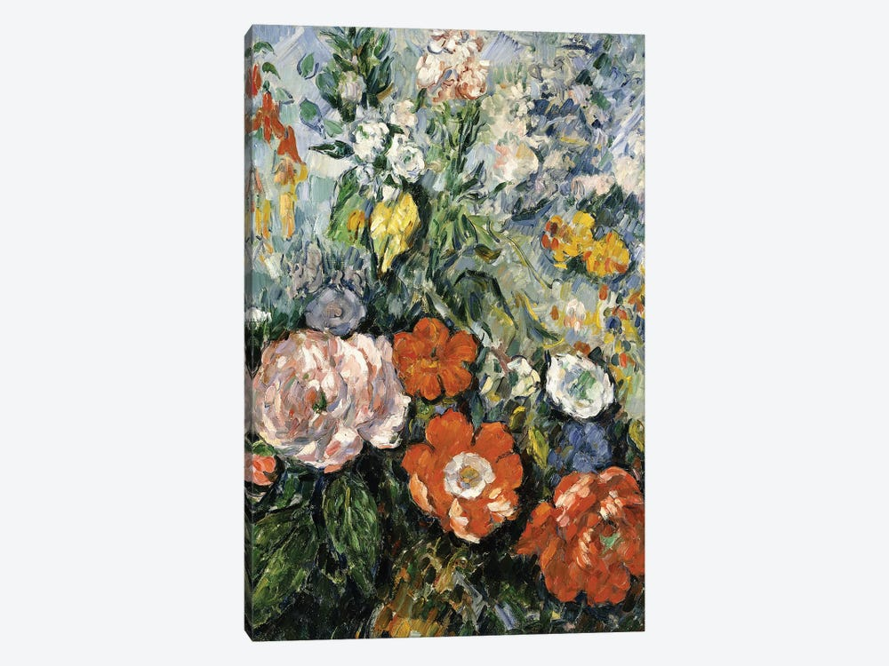 Bouquet of Flowers, 1879-1880  by Paul Cezanne 1-piece Art Print
