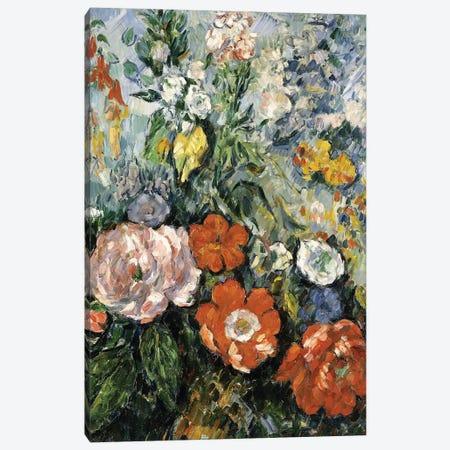 Bouquet of Flowers, 1879-1880  Canvas Print #BMN9698} by Paul Cezanne Canvas Artwork