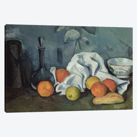 Fruits, 1879-80  Canvas Print #BMN9699} by Paul Cezanne Canvas Artwork