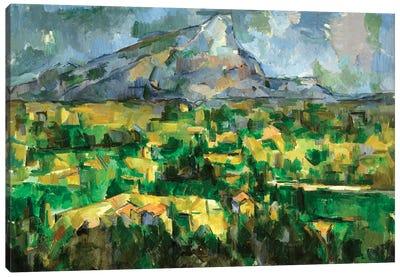 Mont Sainte-Victoire, c.1902  Canvas Art Print