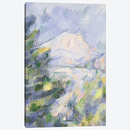 Mont Sainte-Victoire, c.1904-06  Canvas Print #BMN9705} by Paul Cezanne Canvas Art Print
