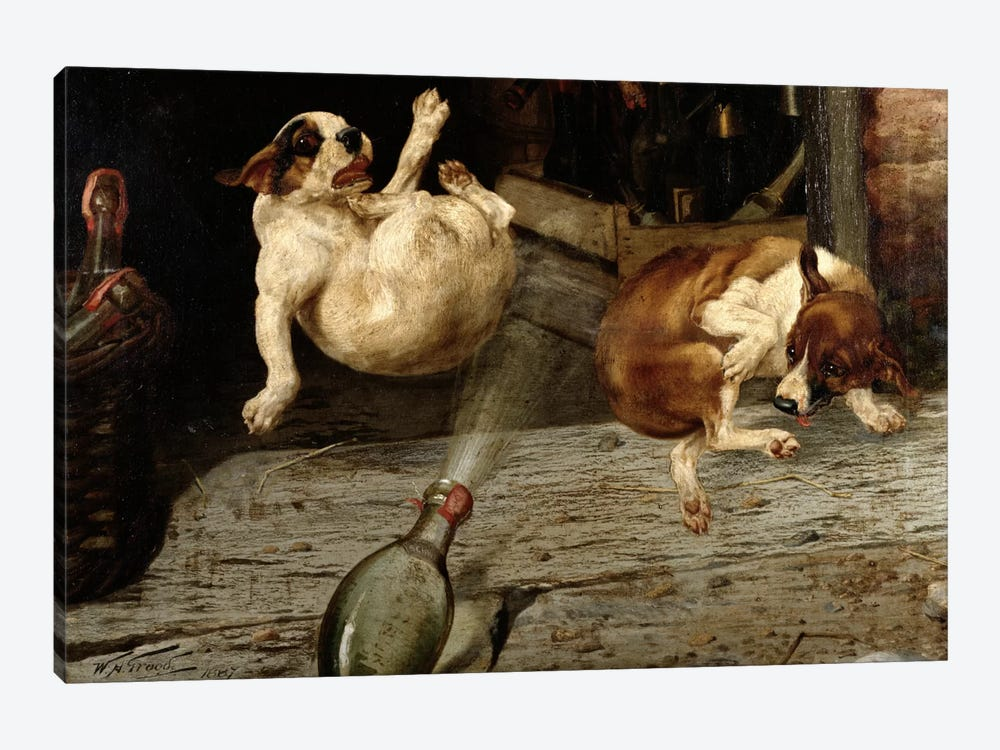 A Surprising Result, 1887  by William Henry Hamilton Trood 1-piece Canvas Art
