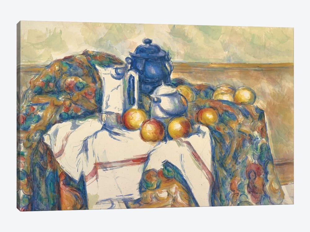 Still Life with Blue Pot, c.1900  by Paul Cezanne 1-piece Canvas Artwork