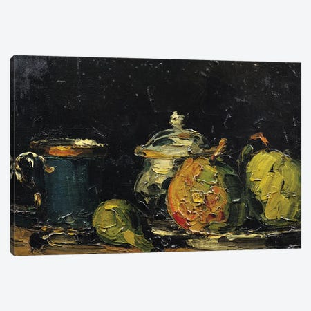 Still Life, c.1865  Canvas Print #BMN9722} by Paul Cezanne Canvas Art