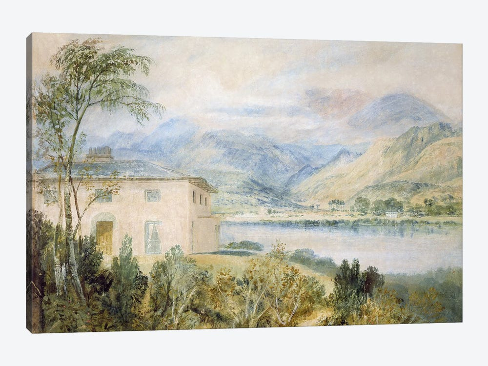 Tent Lodge, by Coniston Water, 1818,  by J.M.W. Turner 1-piece Canvas Print