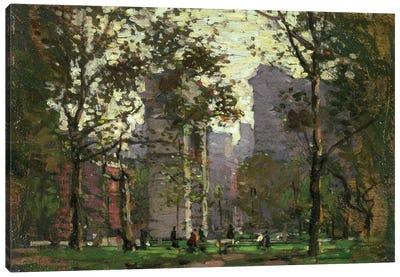 Washington Square, New York  Canvas Art Print