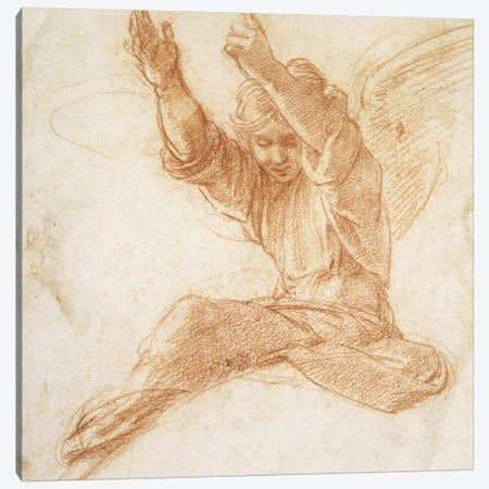 An Angel  Canvas Print #BMN9764} by Raphael Canvas Art Print