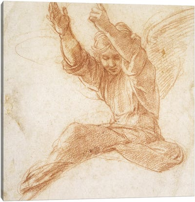 An Angel  Canvas Art Print