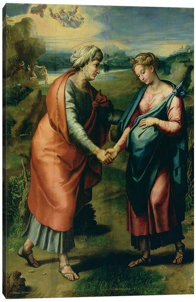 The Visitation Canvas Art Print