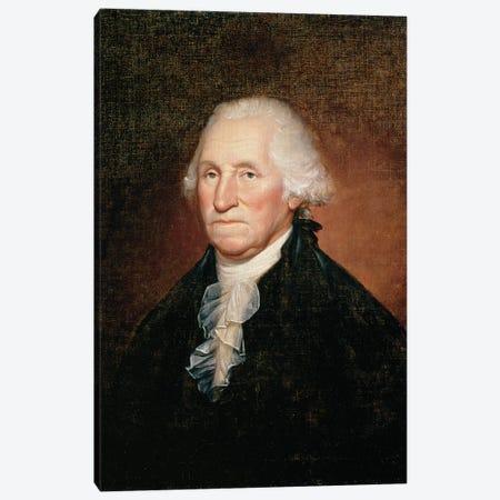 George Washington  1795  Canvas Print #BMN9787} by Rembrandt Peale Canvas Art Print