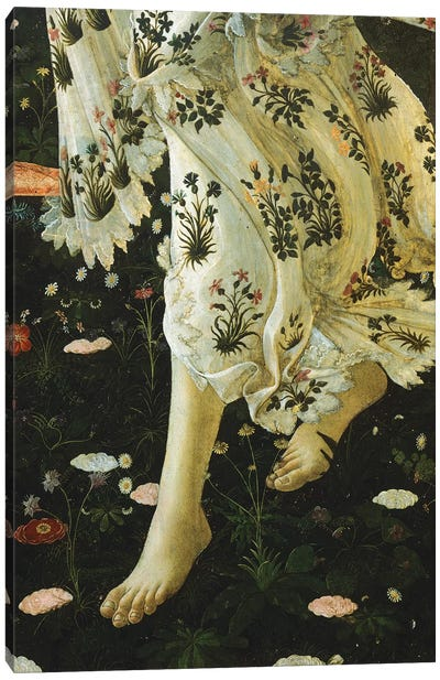 Allegory of Spring, c. 1477-1490 Canvas Art Print