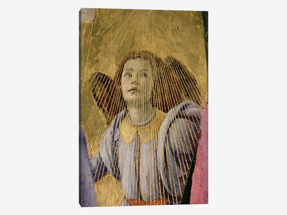 Angel, from the 'Coronation of the Virgin', c.1488-90   by Sandro Botticelli 1-piece Art Print