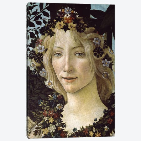 Primavera, c.1478,  Canvas Print #BMN9804} by Sandro Botticelli Canvas Wall Art