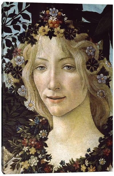 Primavera, c.1478,  Canvas Art Print