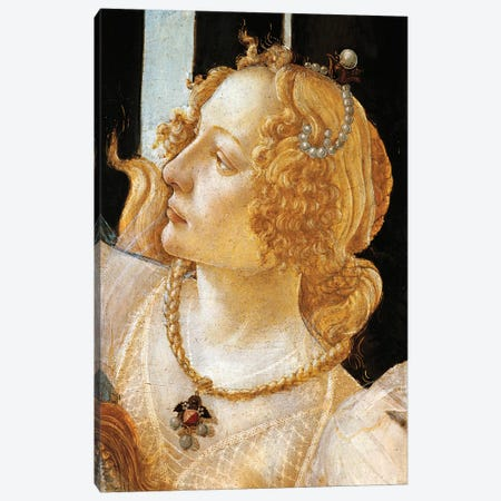 Spring, circa 1482 Canvas Print #BMN9806} by Sandro Botticelli Canvas Artwork