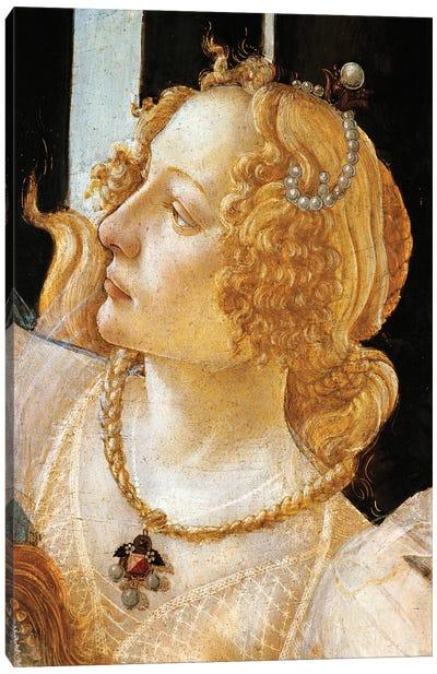 Spring, circa 1482 Canvas Art Print