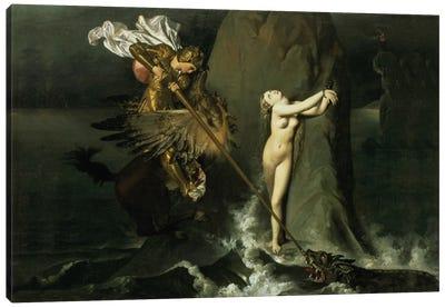Ruggiero Rescuing Angelica, 1819  Canvas Print #BMN980
