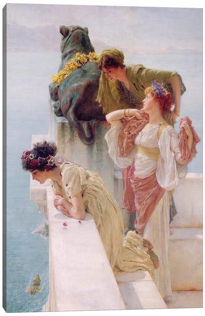 A Coign of Vantage, 1895  Canvas Art Print