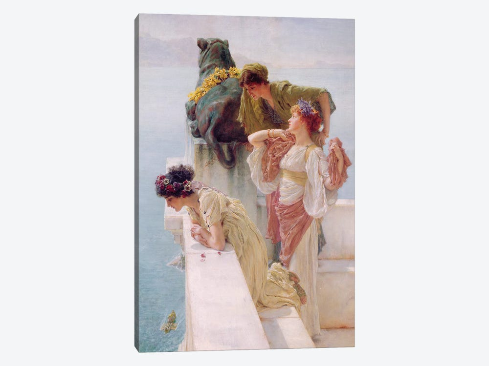 A Coign of Vantage, 1895  by Sir Lawrence Alma-Tadema 1-piece Canvas Art
