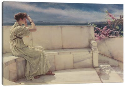 Expectations, 1885  Canvas Art Print