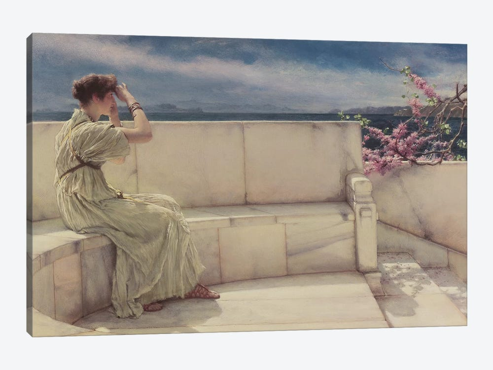 Expectations, 1885  by Sir Lawrence Alma-Tadema 1-piece Canvas Print
