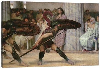 Pyrrhic Dance, 1869  Canvas Art Print