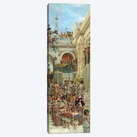 Spring, 1894  Canvas Print #BMN9818} by Sir Lawrence Alma-Tadema Canvas Wall Art