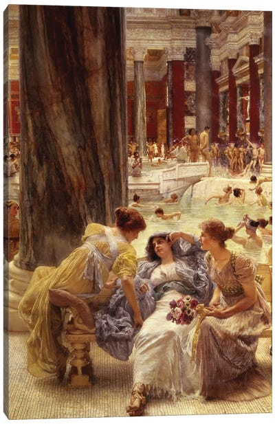The Baths of Caracalla, 1899  Canvas Art Print