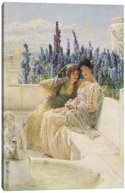 Whispering Noon, 1896   Canvas Art Print