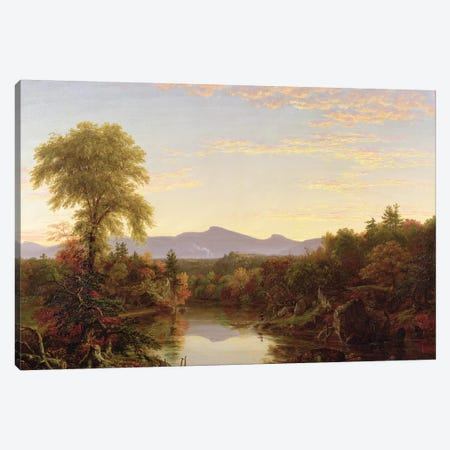 Catskill Creek, New York, 1845  Canvas Print #BMN9823} by Thomas Cole Canvas Print