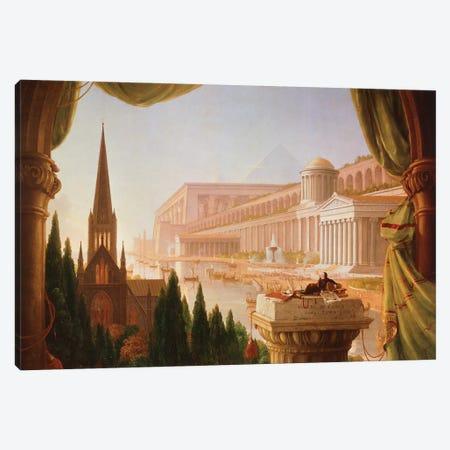 The architect's dream Canvas Print #BMN9827} by Thomas Cole Canvas Art