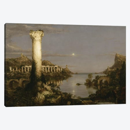 The Course of Empire: Desolation, 1836  Canvas Print #BMN9828} by Thomas Cole Canvas Print