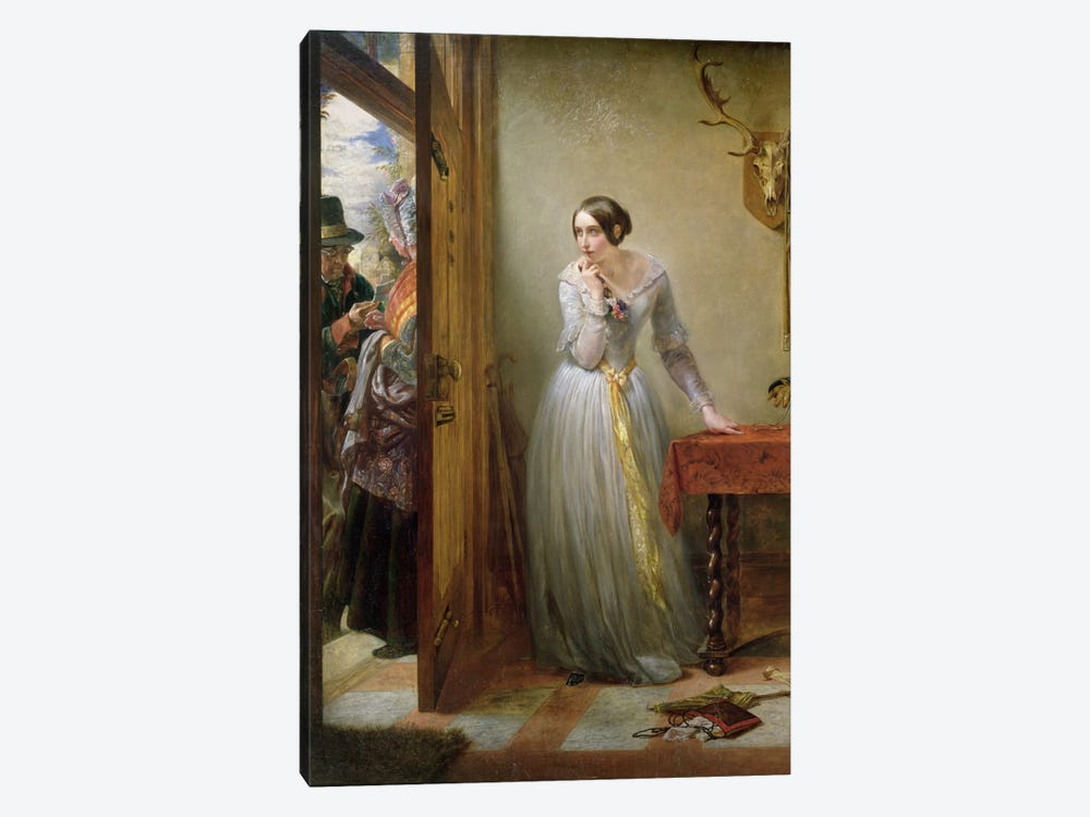Palpitation, 1844  by Charles West Cope 1-piece Art Print